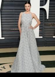 Vanity Fair Oscar Party Miranda Kerr In Miu Miu At 2017 Vanity Fair Oscar Party In Los