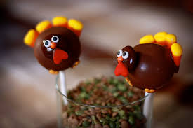 and butter turkey cake pops