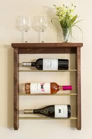 refined customizable diy wine rack shelterness