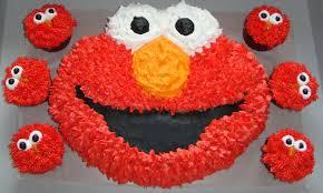 elmo cupcakes by jess elmo cake cupcakes