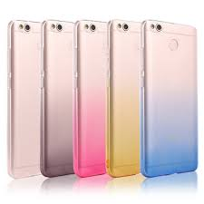 For Xiaomi Redmi 4X Ultra Thin Rainbow Gra nt Color Transparent