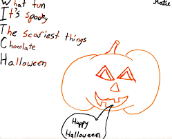 Halloween Poems Spelling And Writing