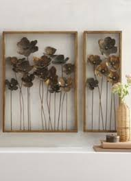 Metal Flower Wall Decor - 100 large digital wall clock foter