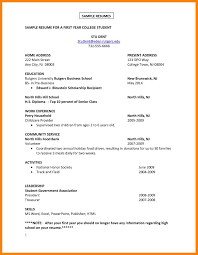 Making A Resume For A Job How To Do A Resume For Your First Job Cbshow Co