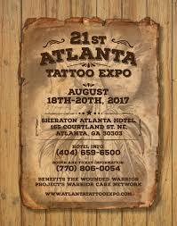atlanta tattoo expo august 2017