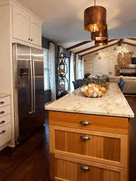 kitchen island counter golden brown pendant l smooth white marble countertop
