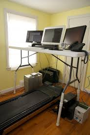 Desk Treadmill Diy Most Interesting Treadmill Desk Setups Treadmill Desk Geeks