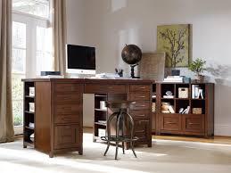 Bedroom Set Home Center Utility Desk With 2 File Drawer Pedestals And Partner U0027s Desk