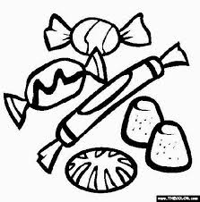 creative designs candy coloring pages free exprimartdesign