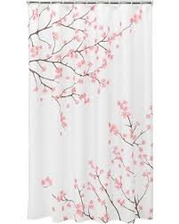 Home Classics Shower Curtain 60 Home Classics皰 Cherry Blossom Fabric Shower