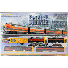 bachmann empire builder ready to run electric set ho scale