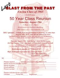 50th high school class reunion encina high school class of 1965 homepage