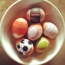 sports easter eggs egg decorating ideas sports themed easter egg and