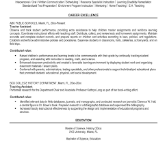 sle resume for teachers sle resumes free resume tips templates with exle of