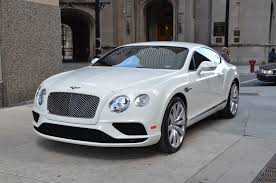 suv bentley white 2016 bentley continental gt v8 stock r246a for sale near chicago