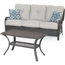 walker edison furniture company brown 7 piece wicker patio