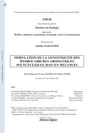 cuisine mol ulaire sph ification modulation de la génotoxicité des pdf available