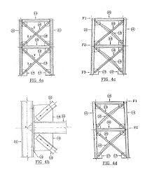 patent us20030205008 sleeved bracing useful in the construction