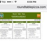 round table pizza menu coupons round table pizza 21 photos 36 reviews pizza 1160 s main st