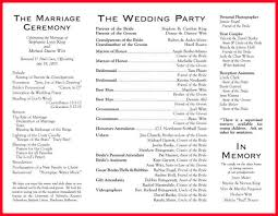 wedding ceremony programs wording wedding programs wording notary letter