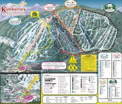 Magic Mountain Map Kimberley Alpine Resort Trail Map Skicentral Com