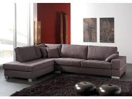 canapé d angle basika canapé d angle à droite santa barbara marron