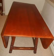 Maple Drop Leaf Table Absolute Auctions Realty