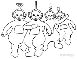 brilliant ideas 2017 teletubbies coloring pages free