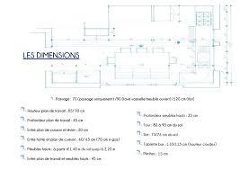 hauteur prise cuisine plan de travail plan de travail profondeur 90 gallery of plans de travail with plan