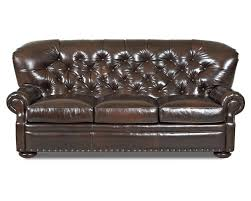 Black Tufted Sofa by Furniture Black Tufted Leather Sofa Used Two New Leather Hides To