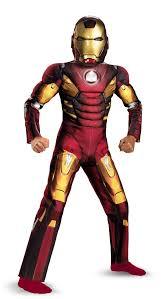 light up halloween costumes boys iron man light up muscle chest avengers kids costume mr