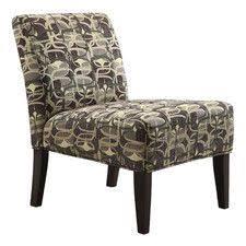 Striped Slipper Chair Inspire Q Peterson Spring Green Stripe Slipper Chair Lr