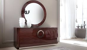 torino dresser u0026 mirror modern bedroom set los angeles