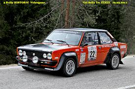 Fiat Abarth 131 Rally 1976 78 by Fiat 131 Racing 2000 Tc Rally Car Classic Cars Pinterest