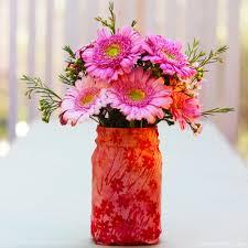 gerber daisies and wax flowers u2014 floristinyou