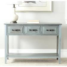 distressed white console table distressed white console tables amazing table with silver in wood