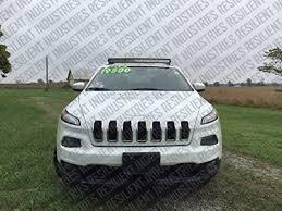 2015 jeep cherokee light bar amazon com jeep cherokee kl 42 curved led light bar brackets