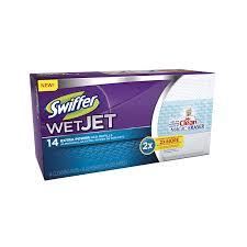 Swiffer Wet Jet Laminate Floors Amazon Com Swiffer Wetjet Pads With The Power Of Mr Clean Magic