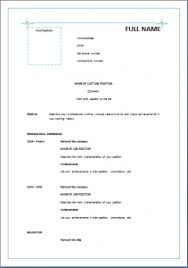 reverse chronological resume template u2013 blue stars resume templates