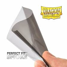 dragon shield 100 perfect fit sleeves smoke