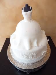 bridal shower cake of bridal gown on mannequin cakecentral com