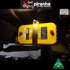 Yellow Ford Ranger Truck - piranha dual battery tray px 11 2011 onwards px ford ranger