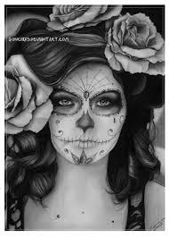 sugar skull by me gunchixs deviantart com ideas for