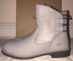 womens casual boots size 11 ugg australia womens burgundy mini boots