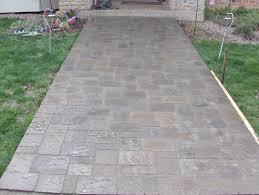 Sted Concrete Patio Designs Concrete Pavers Home Depot Design Idea And Decors Best Pavers