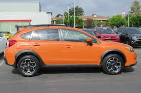 subaru orange crosstrek pre owned 2015 subaru xv crosstrek premium sport utility in san