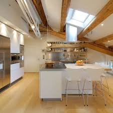 kitchen islands with breakfast bars kitchen island breakfast bar penthouse in udine italy by menzo