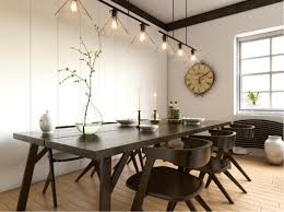 Modern Dining Room Table Modern Dining Room With White Wood Dining Table Sets