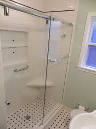 glass shower enclosures u2014 bathroom renovations