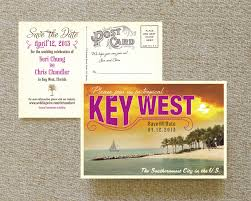 Post Card Invitations Postcard Save The Date Sunset Key West Fl